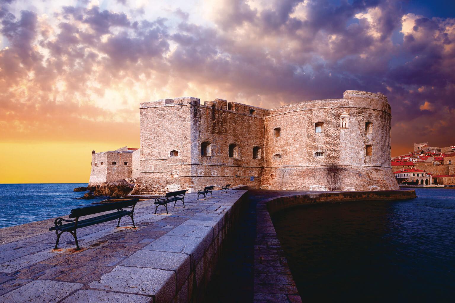 ドゥブロヴニク 聖イヴァン要塞