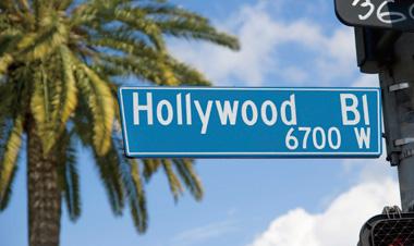 ロサンゼルス ハリウッド通り