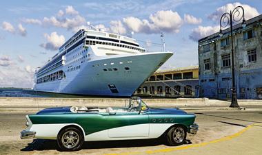 ハバナ キューバ クルーズ クラシックカー