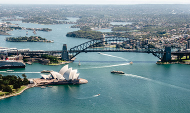 シドニー ハーバーブリッジ オペラハウス オーストラリア