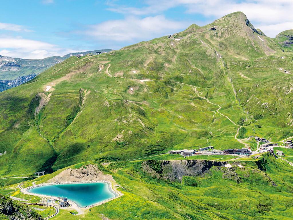 クライネ・シャイデック スイス ユングフラウ鉄道 駅