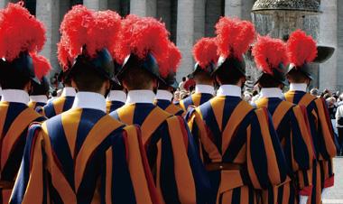 バチカン バチカン市国 衛兵 ローマ